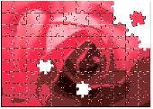 Rose Jigsaw Puzzle Screenshot