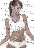 skinny fiber puzzle Screenshot