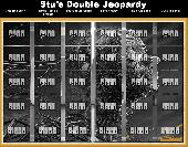 Stu's Double Jeopardy! Screenshot