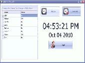 Time Clock Software Screenshot