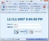TimeFlow Time Clock Software Screenshot