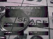 Types Of Bingo Quiz Screenshot