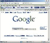 URank, IE toolbar for website rating Screenshot