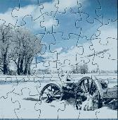 White Snownature Puzzle Screenshot